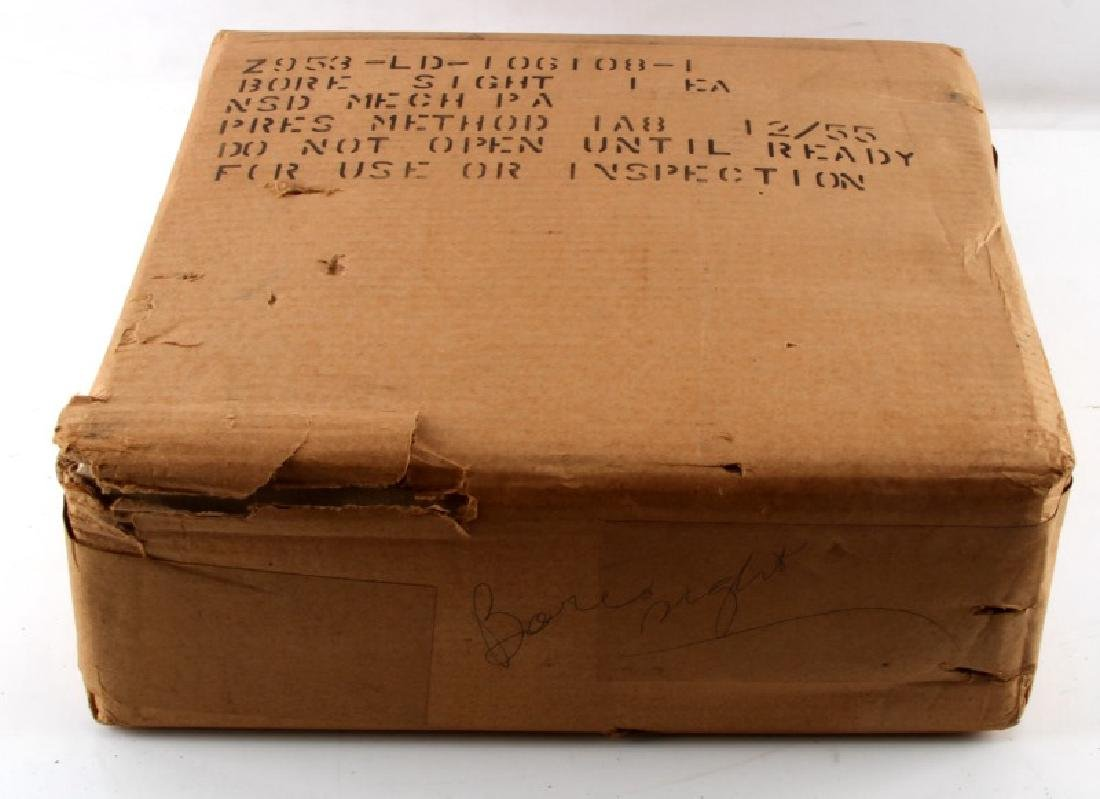 WWII NAVY MK1 40MM BORESIGHT NEW ORIGINAL WRAPING