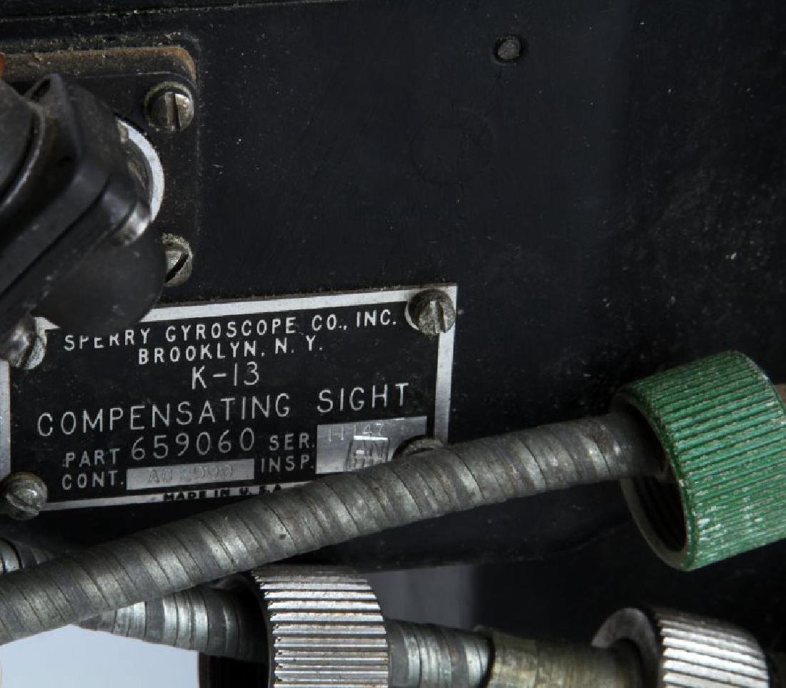 WWII ERA K-13 COMPENSATING SIGHTS & MARK-4 UNITS - 8