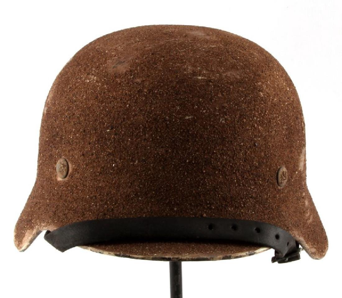 AK SAND M40 HELMET SIZE 57 WITH LEATHER LINER 1941