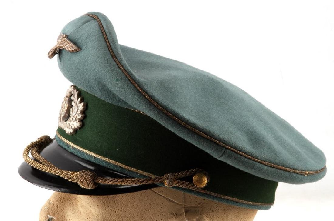 WWII GERMAN THIRD REICH HEER GENERAL'S VISOR CAP - 2