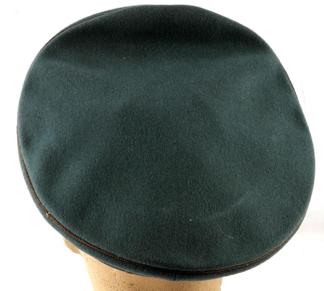 WWII GERMAN THIRD REICH HEER GENERAL'S VISOR CAP - 3