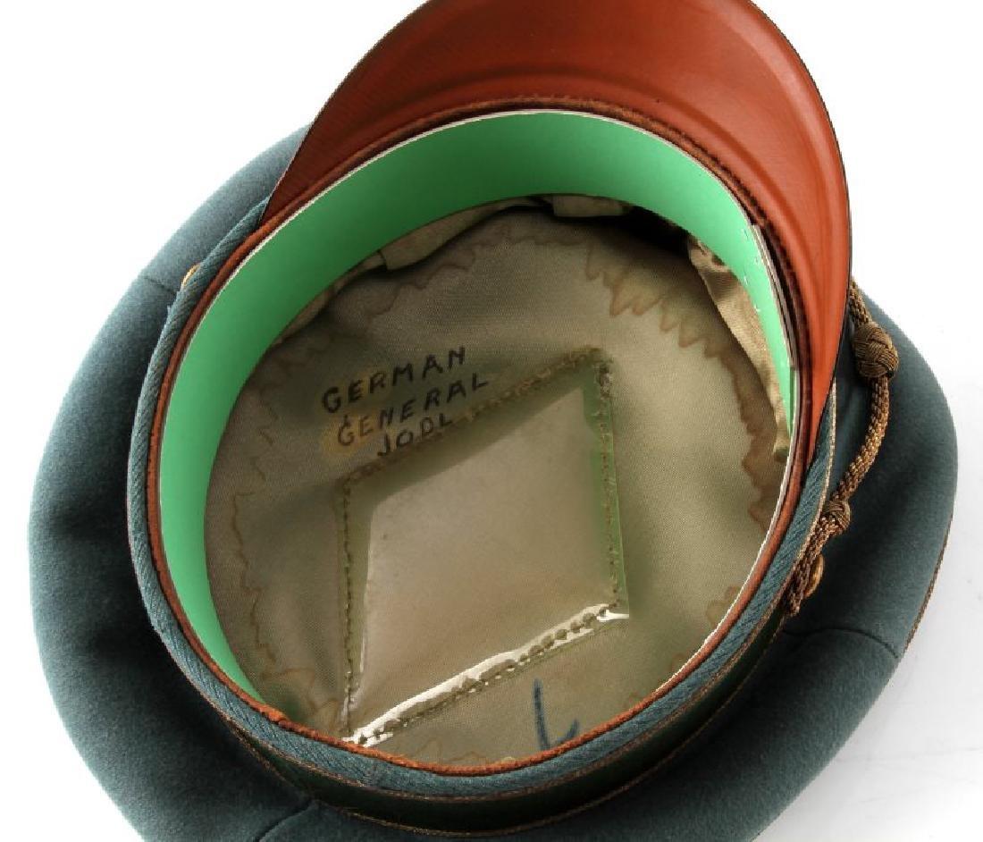 WWII GERMAN THIRD REICH HEER GENERAL'S VISOR CAP - 6