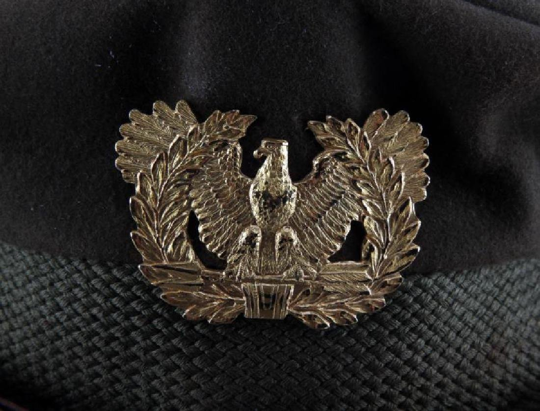 WWII ARMY AIR FORCE WARRANT OFFICER CRUSHER HAT - 2