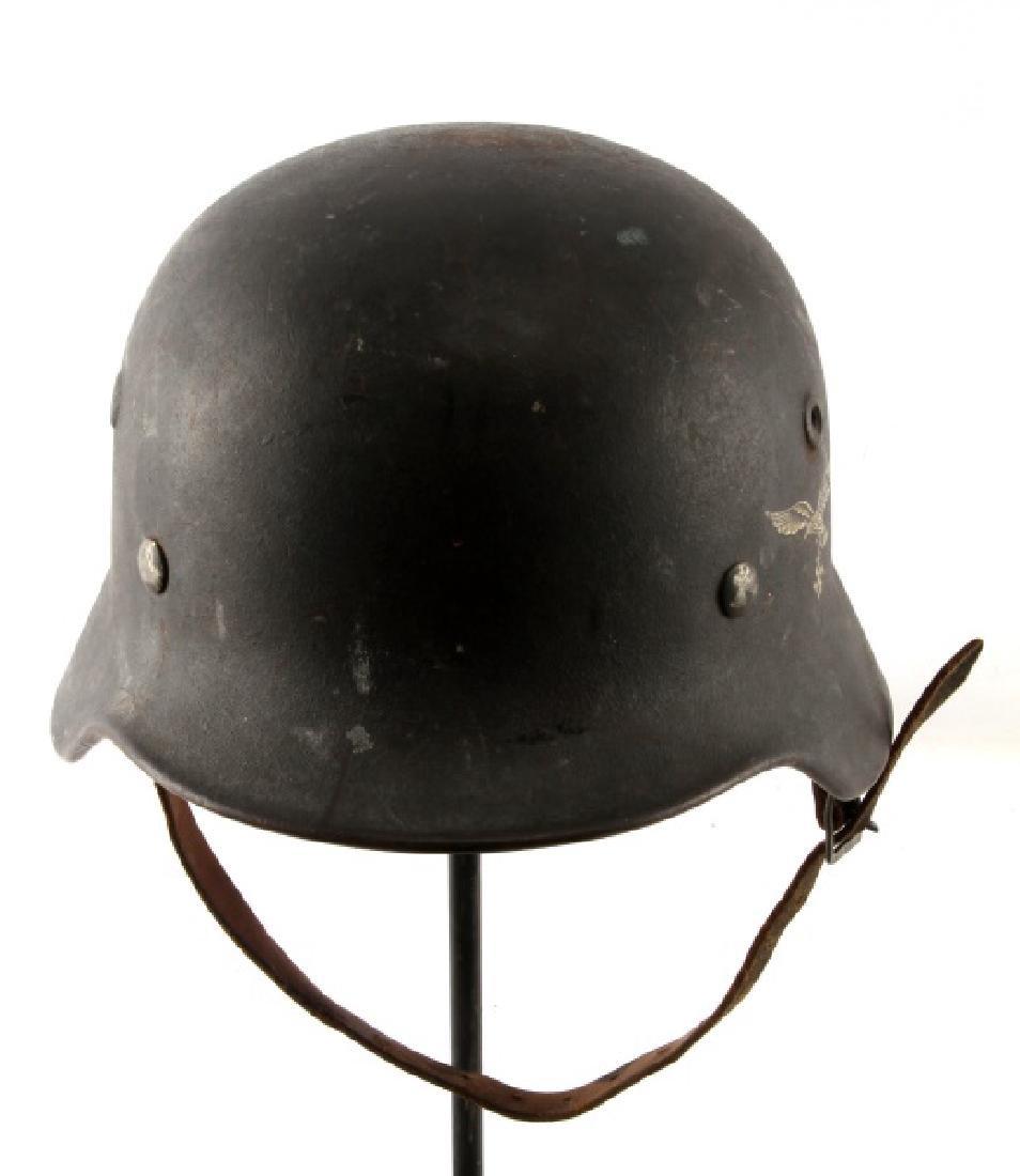 WWII GERMAN 3RD REICH LUFTWAFFE M40 COMBAT HELMET