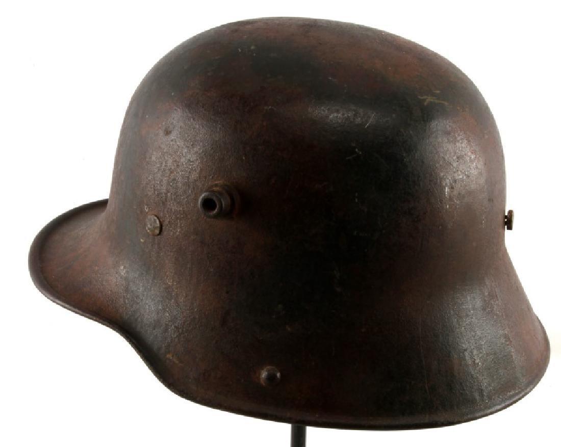 WWI GERMAN 3RD REICH M16 COMBAT HELMET SHELL - 2