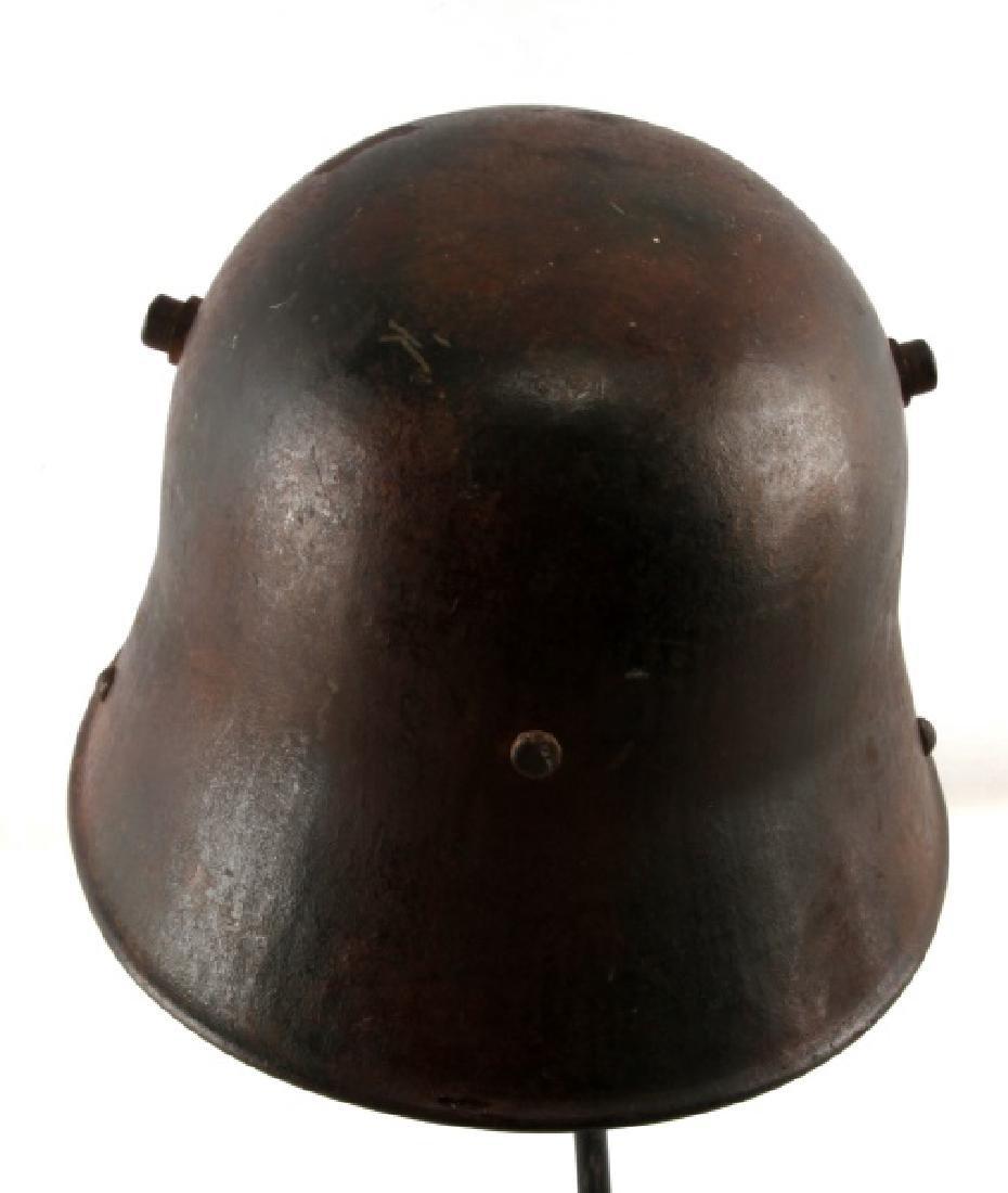 WWI GERMAN 3RD REICH M16 COMBAT HELMET SHELL - 3