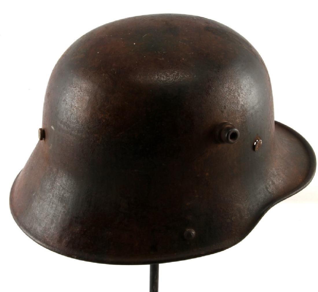 WWI GERMAN 3RD REICH M16 COMBAT HELMET SHELL - 4