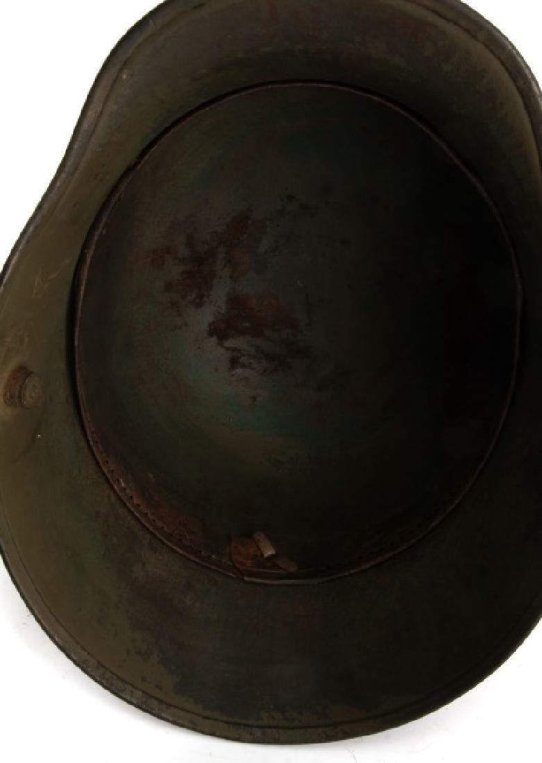 WWI GERMAN 3RD REICH M16 COMBAT HELMET SHELL - 5