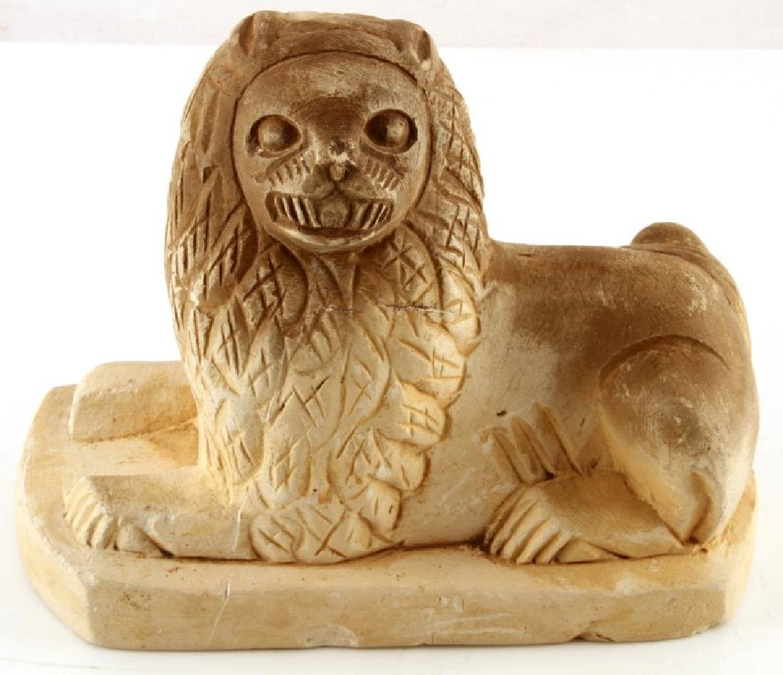 ANCIENT EGYPTION HAND CARVED SEKHMET LIONESS