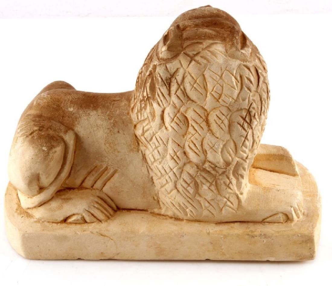 ANCIENT EGYPTION HAND CARVED SEKHMET LIONESS - 2