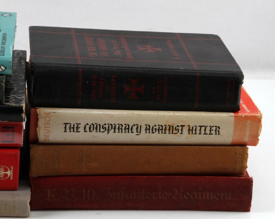 LOT OF 10 GERMAN HISTORY AND HITLER BOOKS - 2