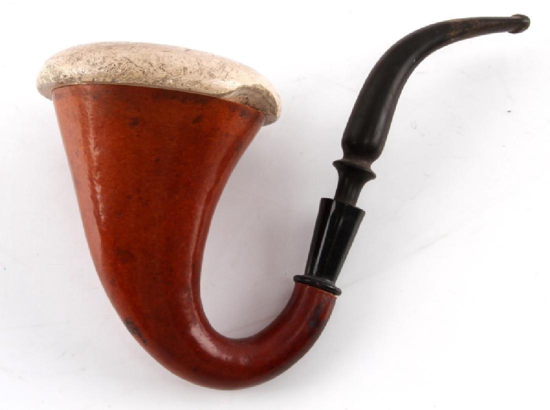 SHERLOCK HOLMES CALABASH MEERSCHAUM PIPE - 2