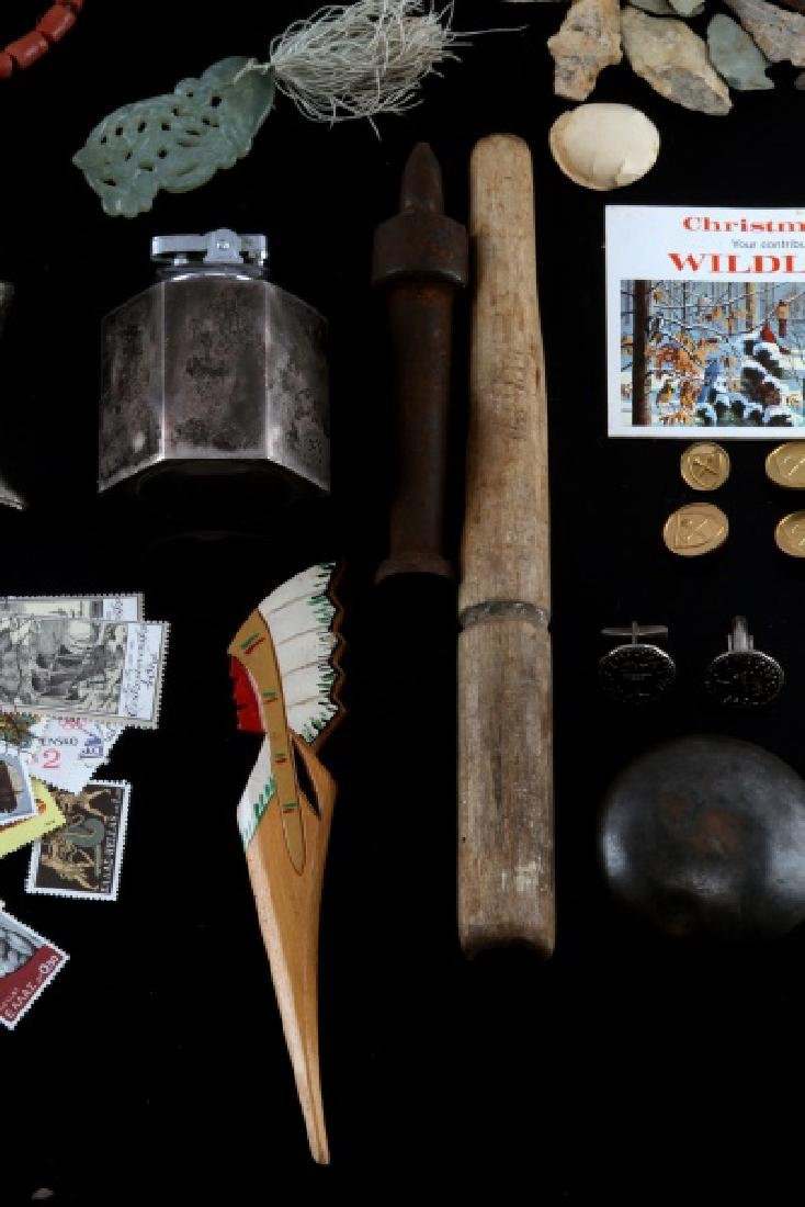 LARGE LOT OF GENERAL ANTIQUES & C0LLECTIBLES - 7