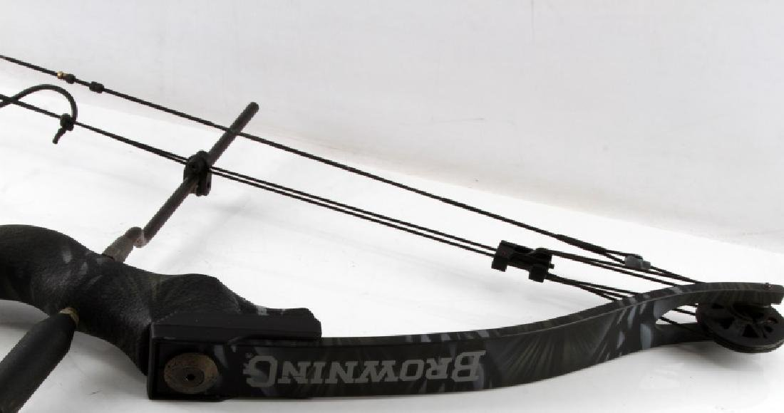 BROWNING COMPOUND BOW TIMBERWOLF TBF3B USED - 3