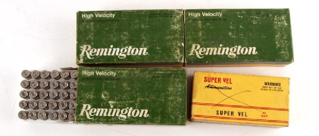 200 ROUNDS OF 45 AUTOMATIC AMMUNITION BOXED