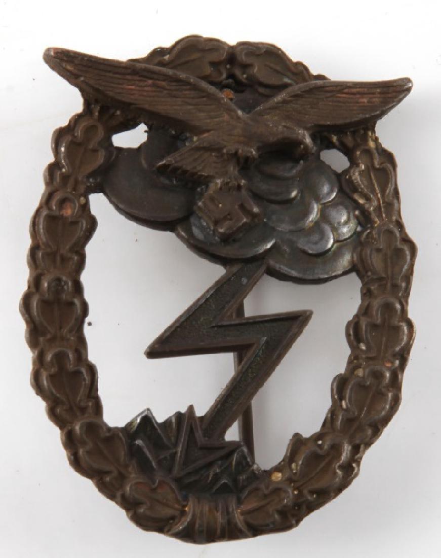 WWII GERMAN LUFTWAFFE GROUND ASSAULT BADGE