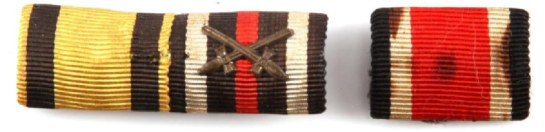 WWII GERMAN THIRD REICH RIBBON BAR IRON CROSS
