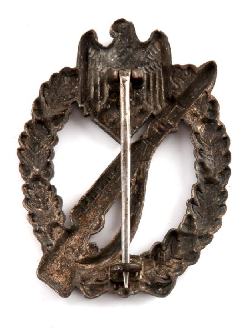 WWII GERMAN 3RD REICH ARMY INFANTRY ASSAULT BADGE - 2