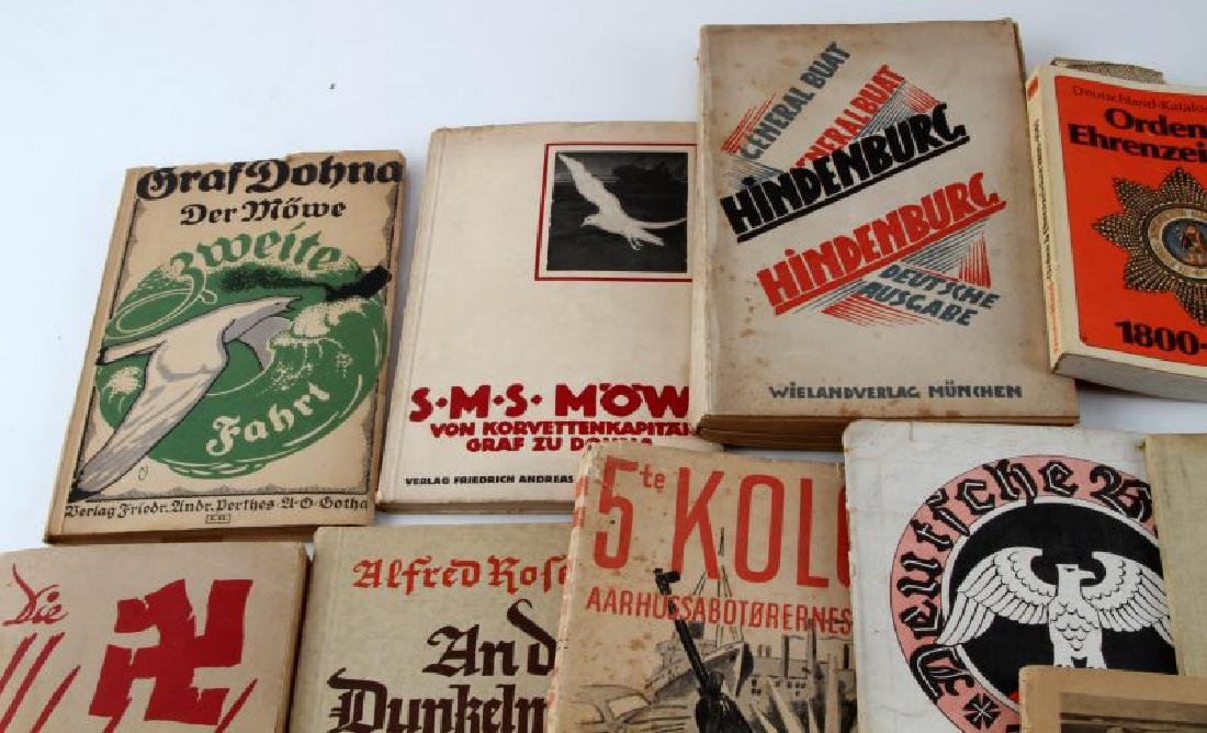 LOT OF 14 VTG GERMAN PAPERBACK BOOKS & PHOTO ALBUM - 2