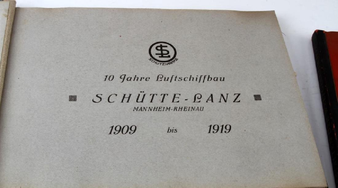 LOT 2 WWII GERMAN CIGARETTE CARD BOOKS EX LIBRIS - 3