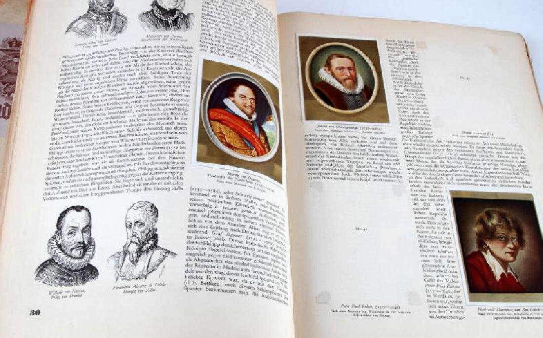LOT 2 WWII GERMAN CIGARETTE CARD BOOKS EX LIBRIS - 7