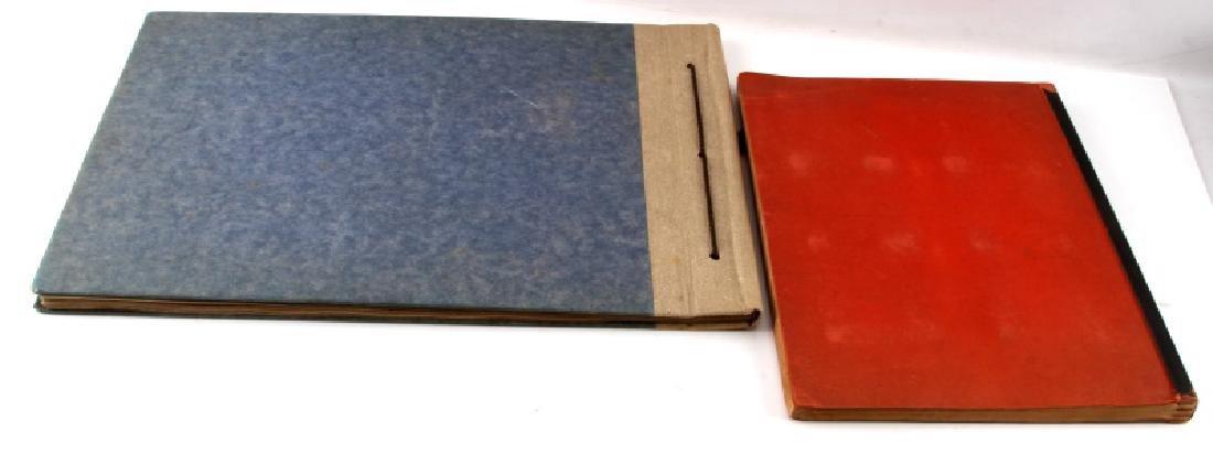 LOT 2 WWII GERMAN CIGARETTE CARD BOOKS EX LIBRIS - 8