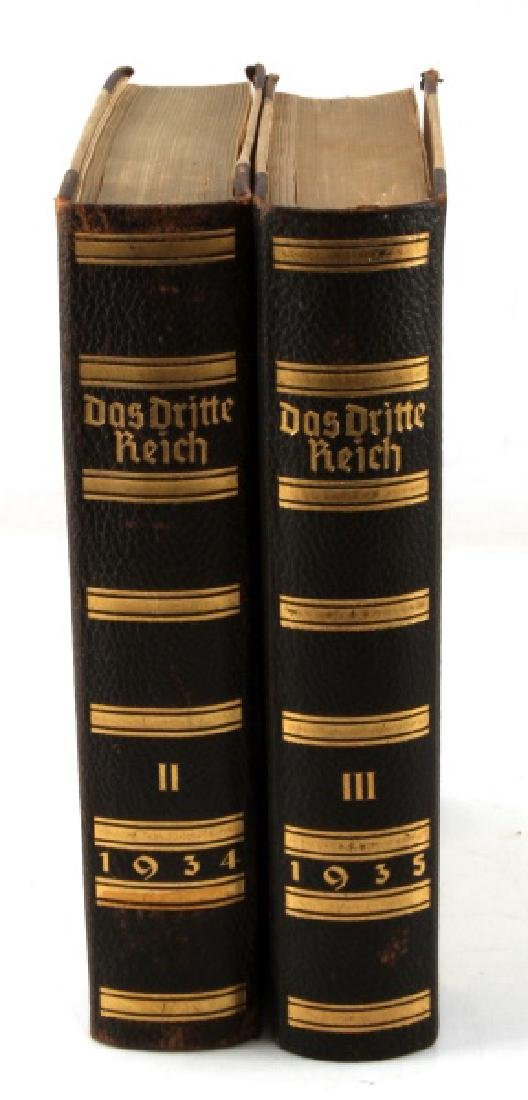 LOT OF 2 BOOKS DOS DRITTE REICH 1934 & 1935