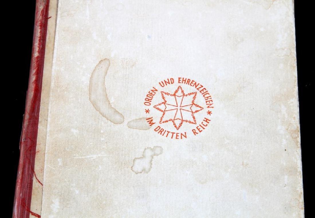 WWII  ORDEN UND EHRENZEICHEN IM DRITTEN REICH - 2