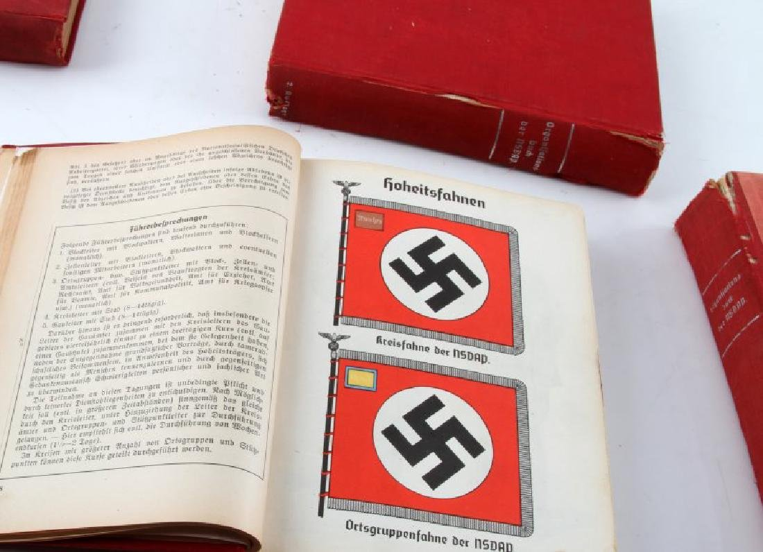 4 WWII ORGANIZATIONSBUCH DER NSDAP BOOK LOT - 5