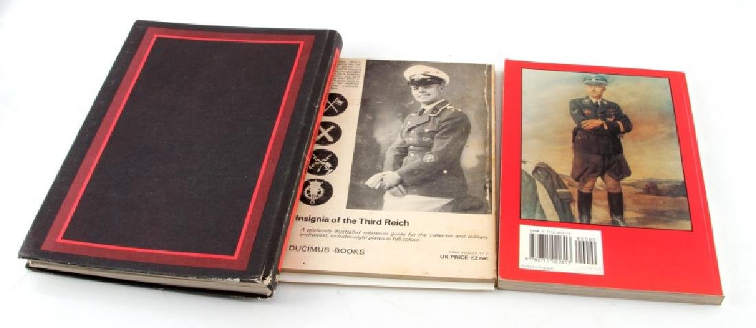 GERMAN MILITARY MEDALS AND REGALIA BOOK LOT OF 3 - 4