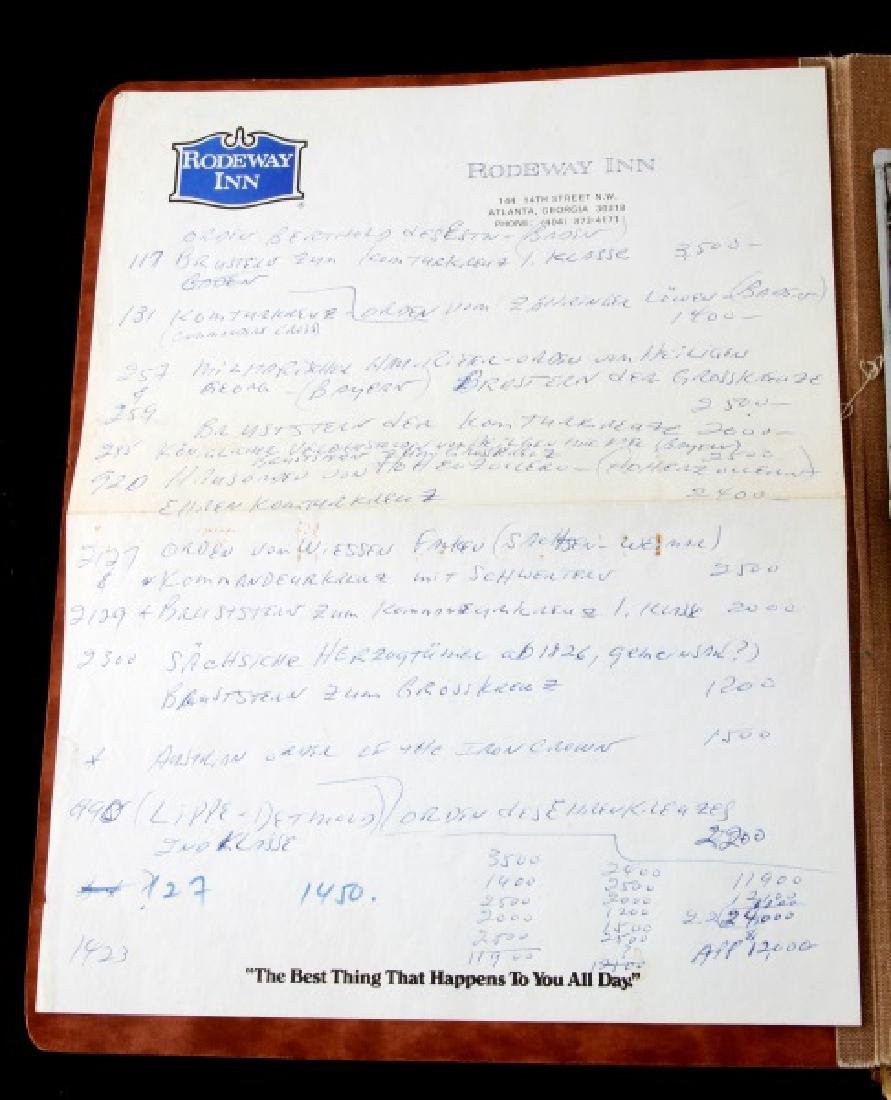 WWII HERMANN GOERING GORING SUICIDE REPORT US ARMY - 3