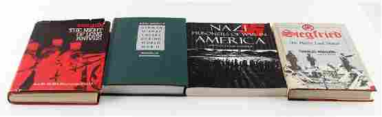 WWII BOOK THIRD REICH GERMAN WAR HISTORY LOT OF 4