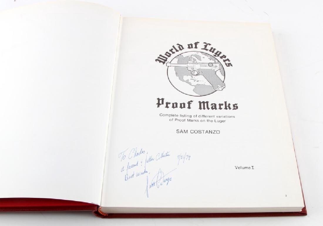WORLD OF LUGERS PROOF MARKS SIGNED WWII GERMAN - 3