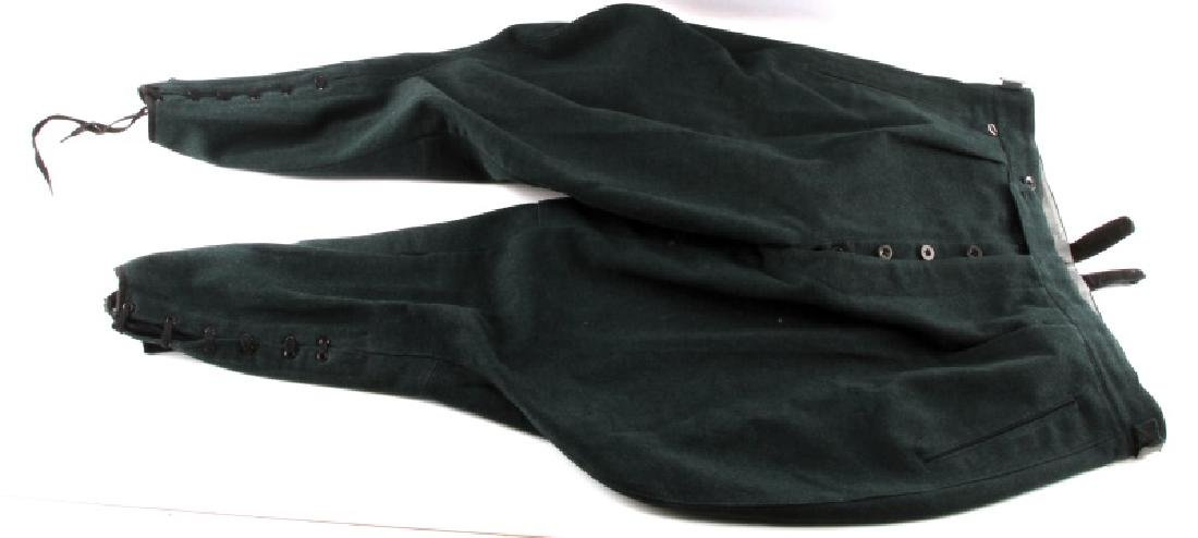 WWII GERMAN FORESTRY OFFICERS WOOL RIDING BREECHES