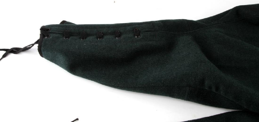 WWII GERMAN FORESTRY OFFICERS WOOL RIDING BREECHES - 3