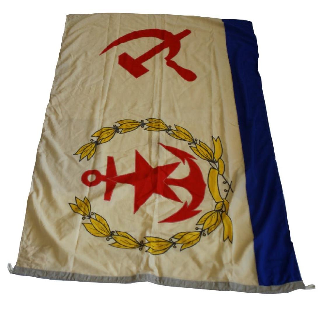 WWII USSR SOVIET UNION CCCP NAVAL FLAG