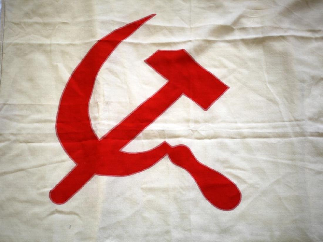 WWII USSR SOVIET UNION CCCP NAVAL FLAG - 4