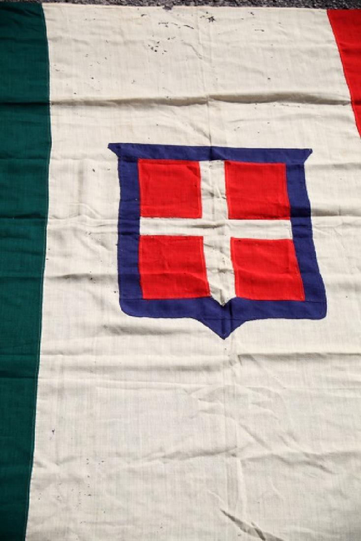 KINGDOM OF SAVOY SARDINIA  ANTIQUE FLAG 1848-1946 - 2
