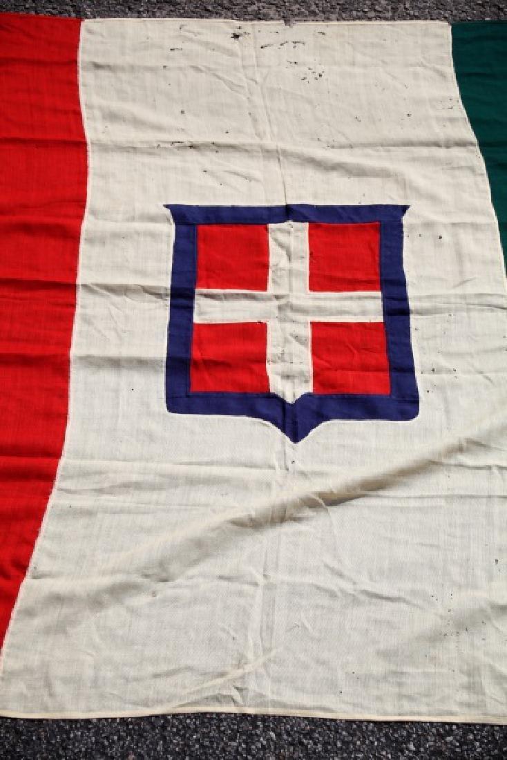KINGDOM OF SAVOY SARDINIA  ANTIQUE FLAG 1848-1946 - 4