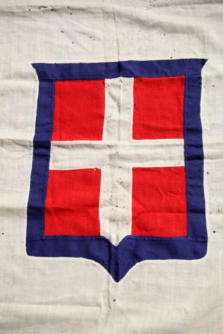 KINGDOM OF SAVOY SARDINIA  ANTIQUE FLAG 1848-1946 - 6