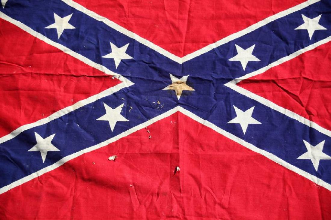 VINTAGE CONFEDERATE STARS AND BARS FLAG - 3