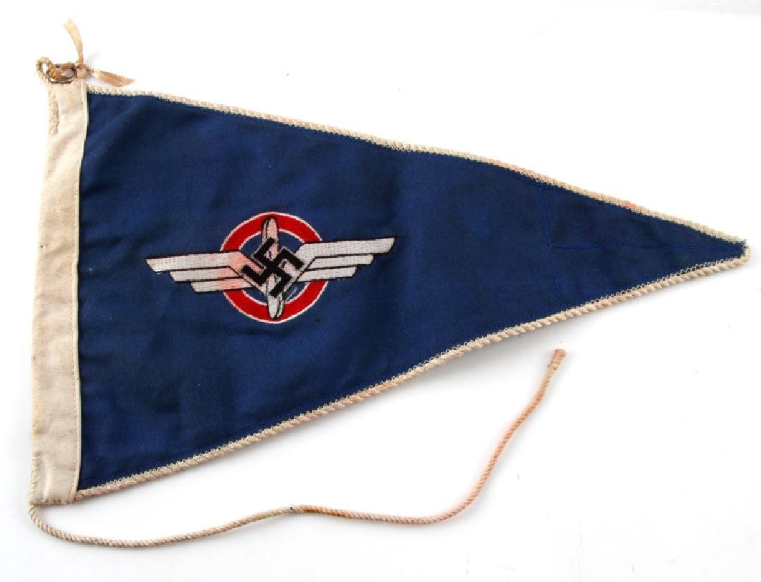WWII GERMAN 3RD REICH DLV DOUBLE SIDED PENNANT