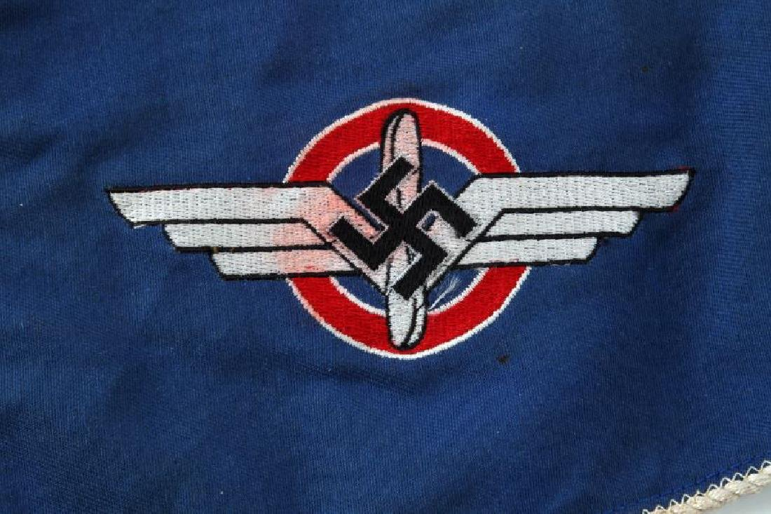 WWII GERMAN 3RD REICH DLV DOUBLE SIDED PENNANT - 2
