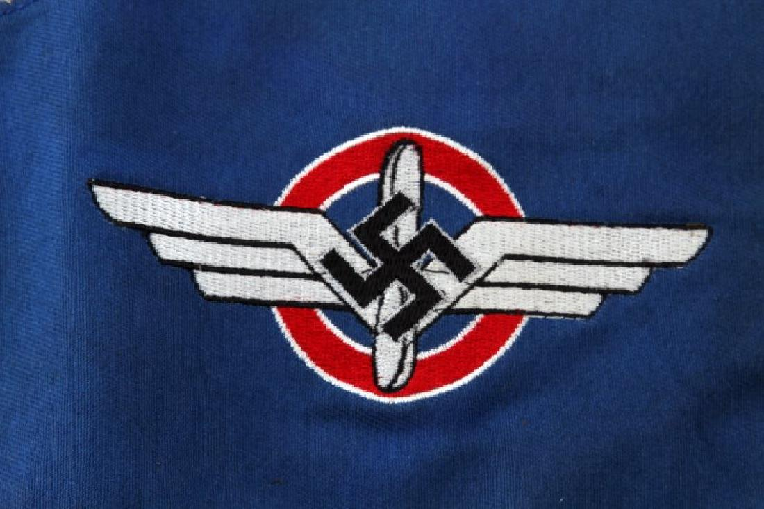 WWII GERMAN 3RD REICH DLV DOUBLE SIDED PENNANT - 4
