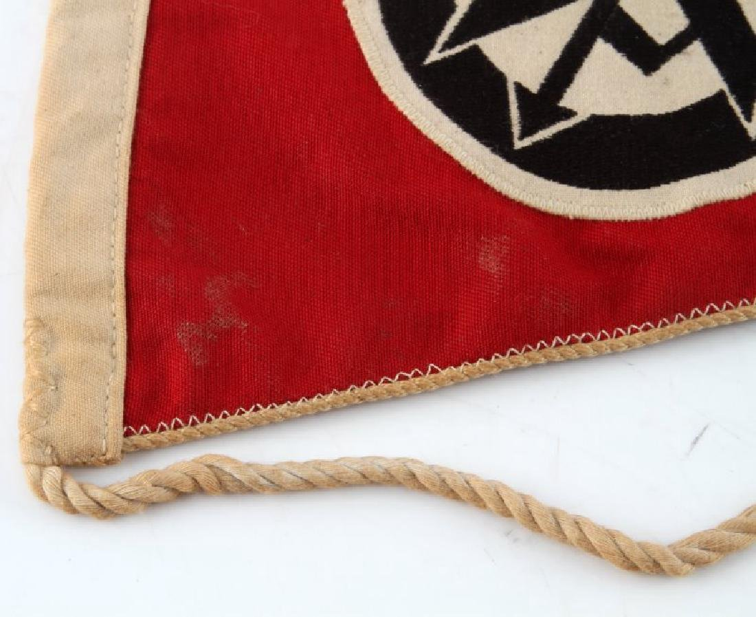 WWII GERMAN 3RD REICH SA DOUBLE SIDED PENNANT - 3