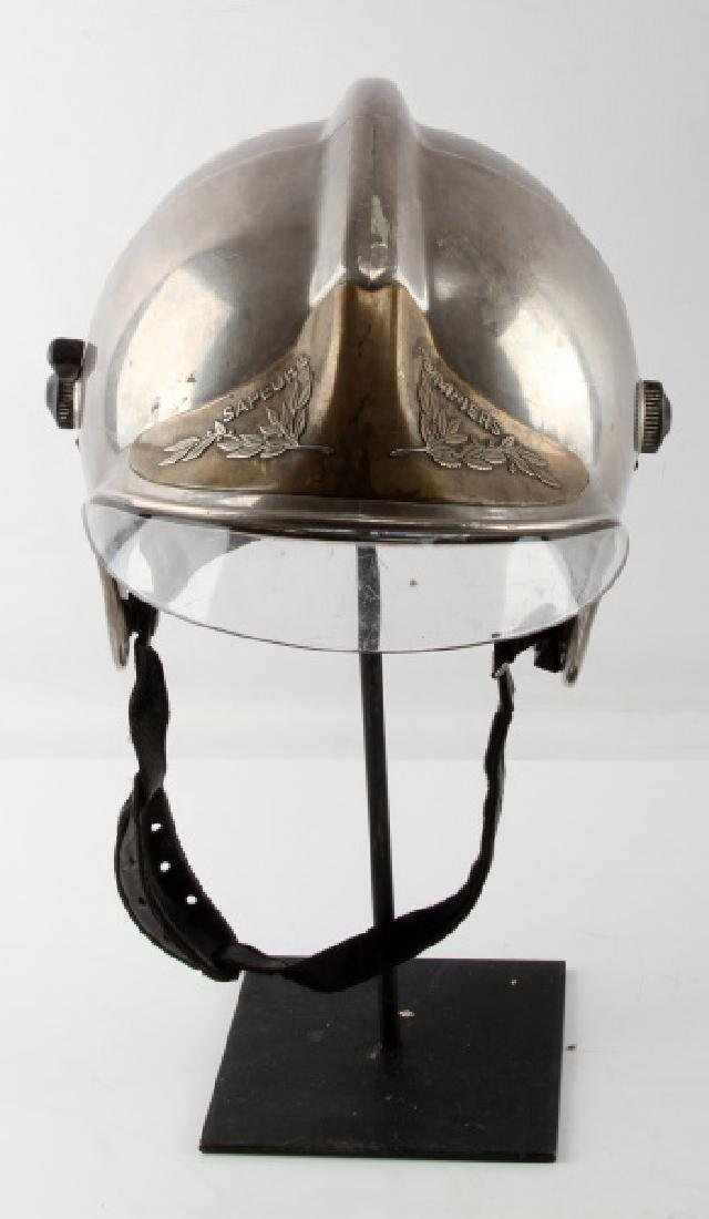 FRENCH GALLET F1 FIREFIGHTER HELMET