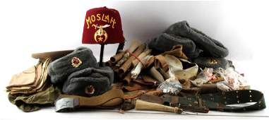 WWII  LATER US  SOVIET  OTHERS MILITARIA  LOT