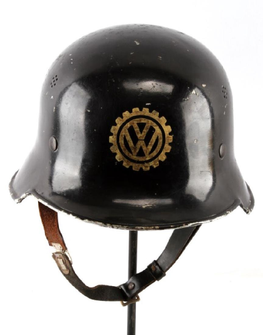 WWII THIRD REICH GERMAN VW FACTORY HELMET