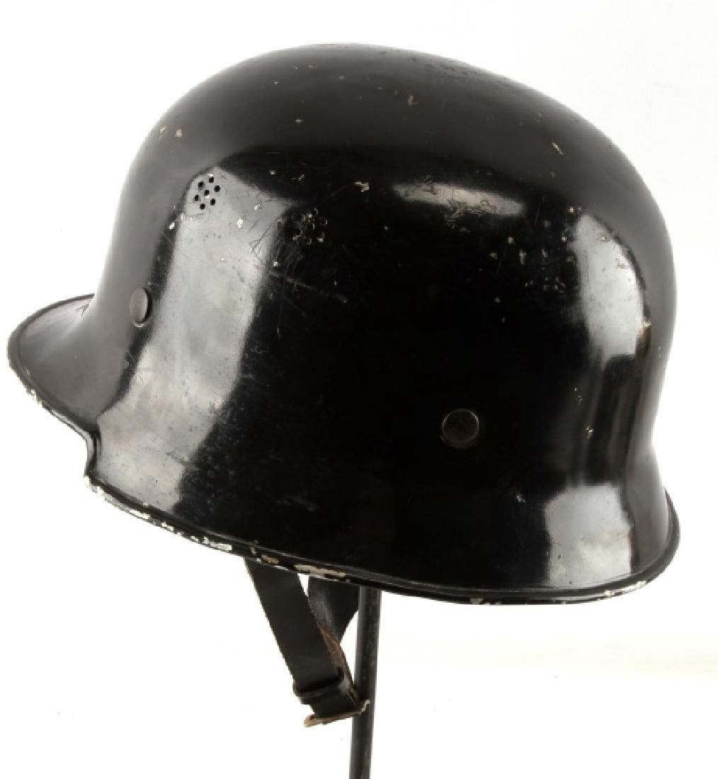 WWII THIRD REICH GERMAN VW FACTORY HELMET - 3