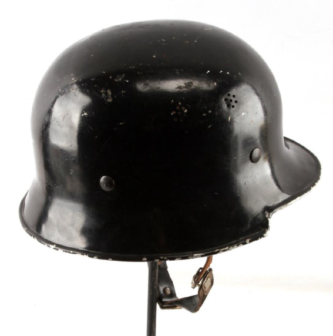 WWII THIRD REICH GERMAN VW FACTORY HELMET - 4
